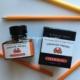 ピュアで明るい【インディアンオレンジ】エルバンの万年筆用インク