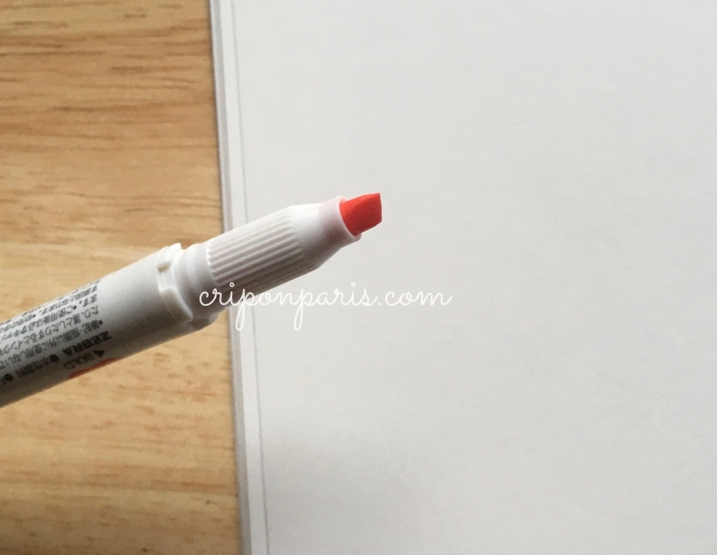 平形のペン先