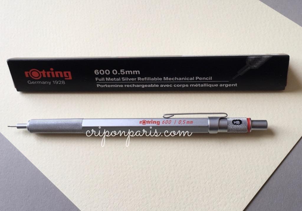 ロットリング600シャープペン全体