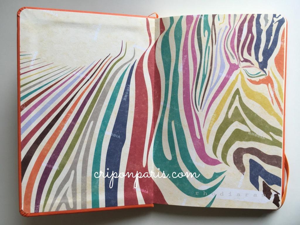 ロディアラマの虹色のシマウマ